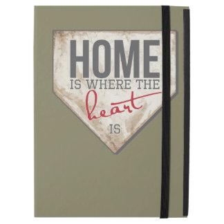 """iPad Pro 12.9"""" Case La maison est où le coeur est"""