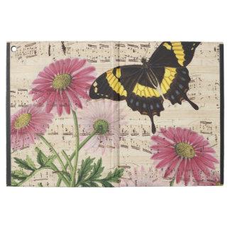"""iPad Pro 12.9"""" Case Musique de papillon de marguerite"""