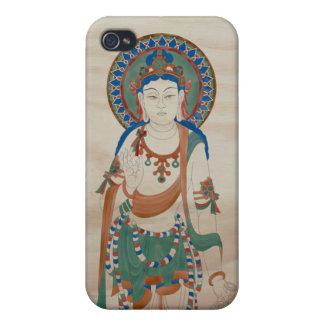 iPhone4 - Arrière - plan de sapin de Vitarka Mudra Coque iPhone 4/4S