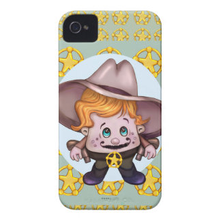 iPhone 4 BT de COWBOY d'ANIMAL FAMILIER Coques iPhone 4