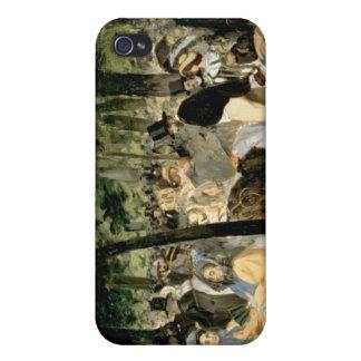 iPhone 4 Case Musique de Manet | dans les jardins de Tuileries,