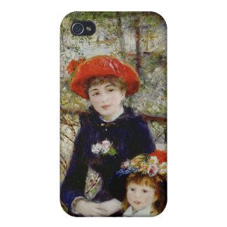 iPhone 4 Case Pierre un Renoir | deux soeurs, ou sur la terrasse