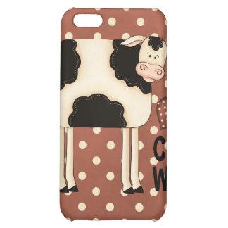iPhone 4 de cas de Speck® Fitted™ de vaches à amou