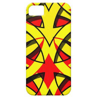 iPhone 5 Case abstract red yellow