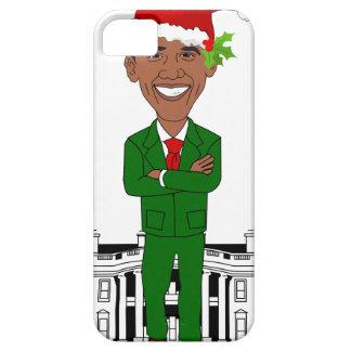 iPhone 5 Case Barack Obama le père noël