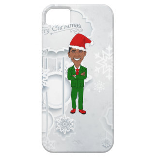 iPhone 5 Case Barack Obama père Noël