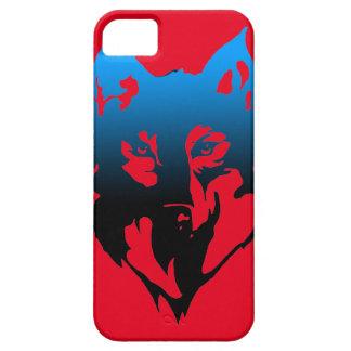 iPhone 5 Case caisse de Se d'iphone avec le loup là-dessus