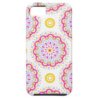 iPhone 5 Case Conception ornementale de Bohème colorée