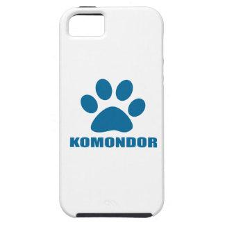 iPhone 5 CASE CONCEPTIONS DE CHIEN DE KOMONDOR