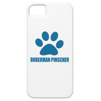 iPhone 5 CASE CONCEPTIONS DE CHIEN DE PINSCHER DE DOBERMANN