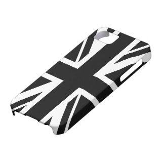 iPhone 5 Case ~ d'Union Jack noir et blanc