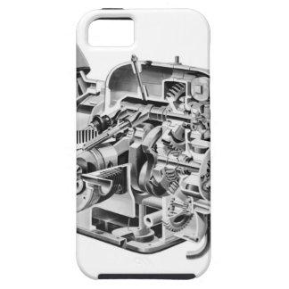 iPhone 5 Case Écorché d'habitué de la marijuana
