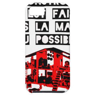 iPhone 5 Case En Construction tout est faisable Dans la Masure