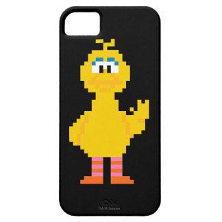 iPhone 5 Case Grand art de pixel d'oiseau