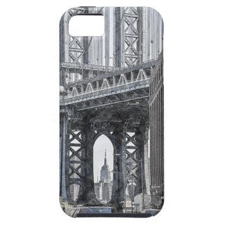 iPhone 5 Case Horizon de pont des Etats-Unis New York Manhattan