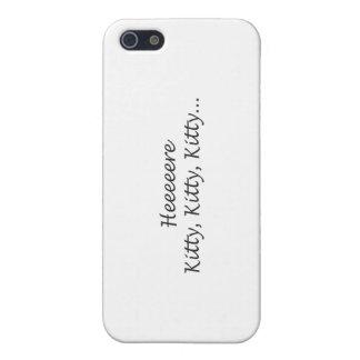 iPhone 5 Case Ici Kitty Kitty Kitty