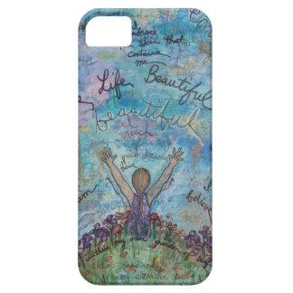 iPhone 5 Case Je vis la vie belle