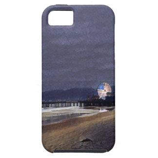 iPhone 5 Case L'Américain Ferris roulent dedans Santa Monica