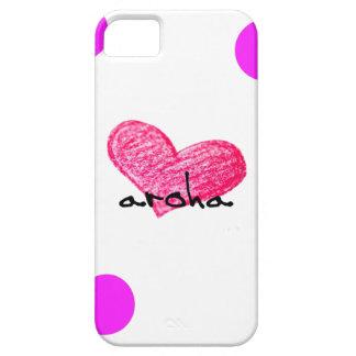 iPhone 5 Case Langue maorie de conception d'amour