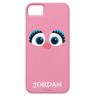iPhone 5 Case Le grand visage | d'Abby Cadabby ajoutent votre