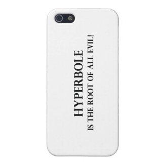 iPhone 5 Case L'hyperbole est la racine de tout le mal