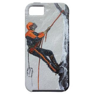 iPhone 5 Case Long-courrier Stihl d'arboriste. Husqvarna
