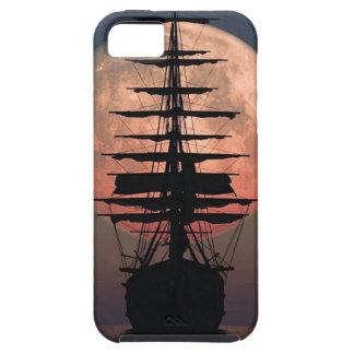iPhone 5 Case Lune de pirate de navigation