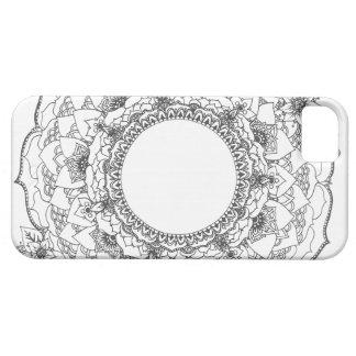 iPhone 5 Case Mandala de pleine lune