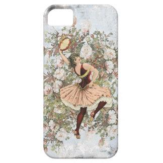 iPhone 5 Case Mélange floral gitan et match de danse vintage