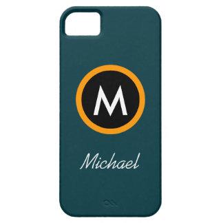 iPhone 5 Case Modèle Neoteric de nom de monogramme