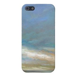 iPhone 5 Case Nuages côtiers avec l'océan