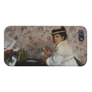 iPhone 5 Case Portrait d'Edgar Degas | de Mlle. Hortense