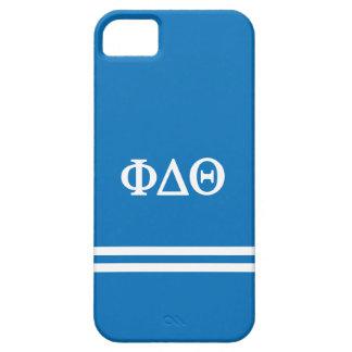 iPhone 5 Case Rayure de sport du thêta | de delta de phi