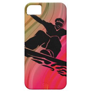 iPhone 5 Case Saut de surf des neiges