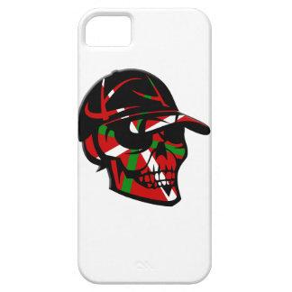 iPhone 5 Case Skull surfeur Basque