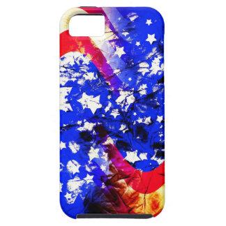 iPhone 5 Case Union Jack, drapeau, bleu, nation Etats-Unis fiers