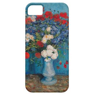 iPhone 5 Case Van Gogh et Elizabeth fleurit - la caisse de