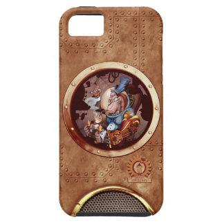iPhone 5 de chimpanzé de l'espace de Steampunk Coque Tough iPhone 5