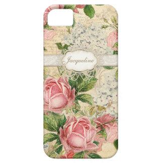 IPhone 5 - Hortensia rose de la dentelle n de l'an Coques iPhone 5