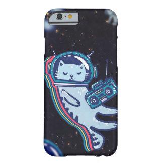 iPhone 6/6s, à peine là cas de SpaceCat de Coque iPhone 6 Barely There