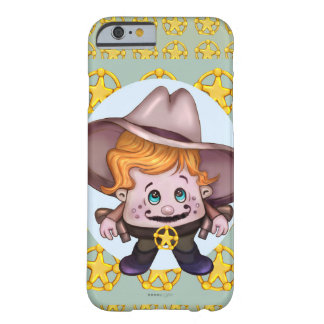 iPhone 6/6s BT de COWBOY d'ANIMAL FAMILIER Coque Barely There iPhone 6