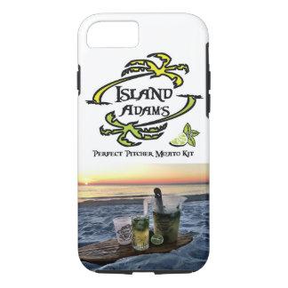 iPhone 6/6s, cas dur d'Adam d'île de téléphone de Coque iPhone 7