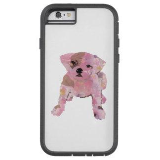 iPhone 6/6s, cas français de téléphone de chien de Coque Tough Xtreme iPhone 6