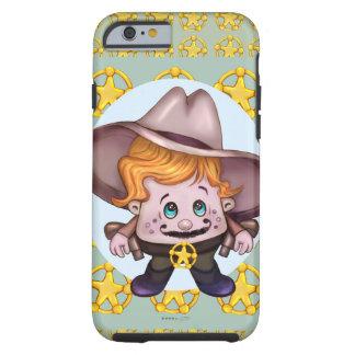 iPhone 6/6s de COWBOY d'ANIMAL FAMILIER DUR Coque Tough iPhone 6