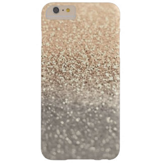 iPhone 6/6s de scintillement moderne d'or et Coque iPhone 6 Plus Barely There