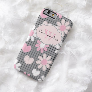 iPhone 6 coeurs du pois | des marguerites | de Coque Barely There iPhone 6