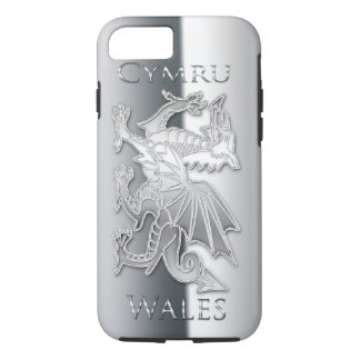 iPhone 6 d'effet d'argent de dragon de Gallois, Coque iPhone 7