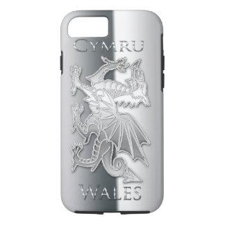iPhone 6 d'effet d'argent de dragon de Gallois, Coque iPhone 8/7