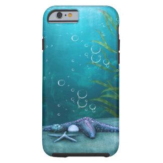 iPhone 6 d'effet de l'eau de vue d'océan, dur Coque Tough iPhone 6