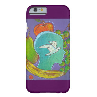 iPhone 6 vegan freedom animal fruits Coque Barely There iPhone 6